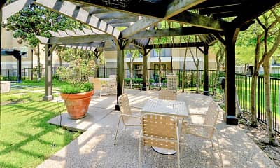 Patio / Deck, The Saxony At Chase Oaks, 0