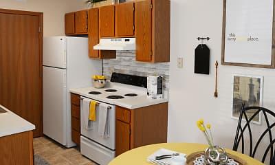 Kitchen, Bridgewater Apartments, 1