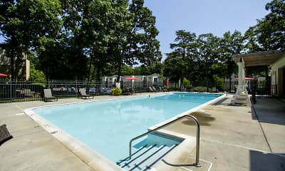 Pool, Stuart Woods Apartments, 1