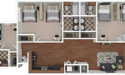 Rio West - Per Bed Leases, 2