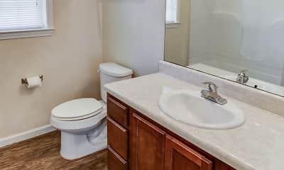 Bathroom, Hamilton Villas, 2