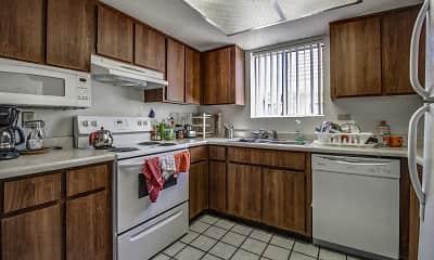 Kitchen, El Diablo Apartments, 1