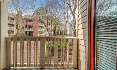 Patio / Deck, The Arbors Apartments, 2