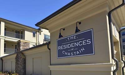 Community Signage, Residences at Chastain, 2