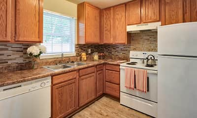 Kitchen, Lakeville Townhome Apartments, 1