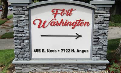 Fort Washington Apartments, 2