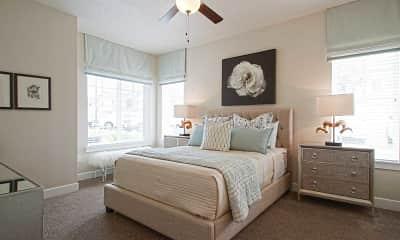 Bedroom, Draper Village, 1