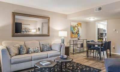 Living Room, Ascend Midtown, 0