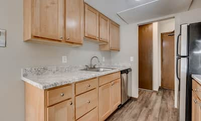 Kitchen, Shelard Village Apartments, 0