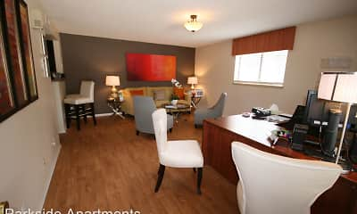 Dining Room, Parkside Apartments, 1
