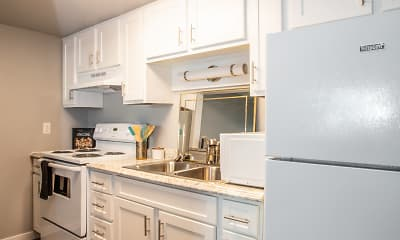 Kitchen, Broadmoor Apartments, 1