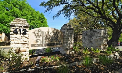 Community Signage, Willow Brook, 2
