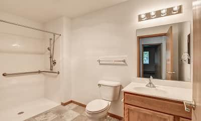 Bathroom, Prairie Meadow Senior Living, 2