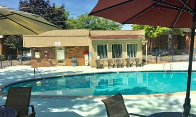 Pool, Eastbrooke Apartments, 2