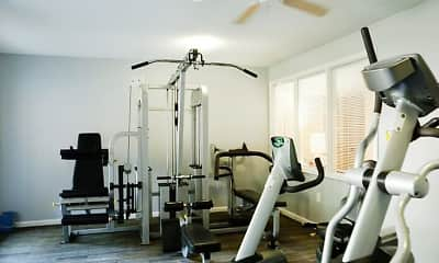 Fitness Weight Room, Vantage Point, 2