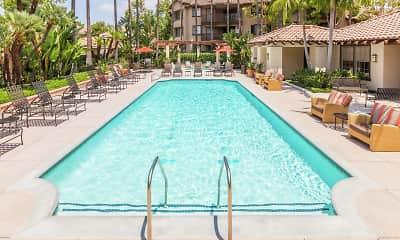 Pool, Rancho Mariposa Apartments, 2