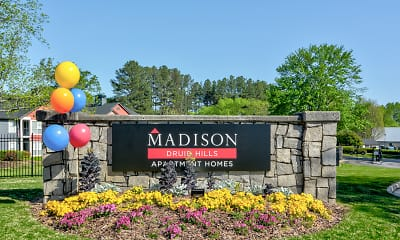 Community Signage, Madison Druid Hills, 2