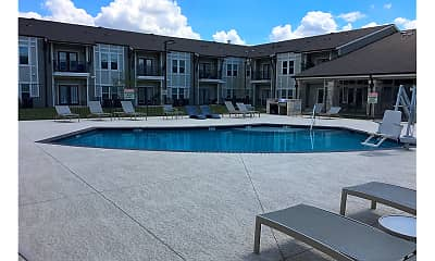 Pool, Liberty Manor, 1
