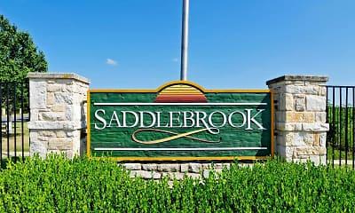 Community Signage, Saddlebrook, 2