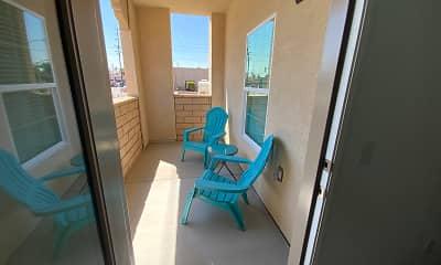 Patio / Deck, Garden Springs 55+ Senior Apartments, 2