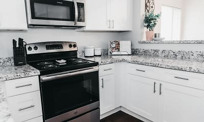 Kitchen, Vaseo Apartment Homes, 1