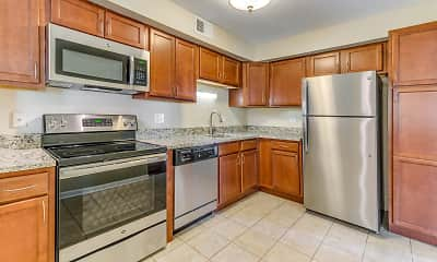 Kitchen, Willow Bend Apartments, 1