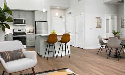 Dining Room, Avalon Monrovia, 0