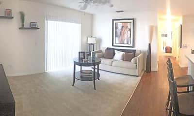 Living Room, Harvard Apartments, 0