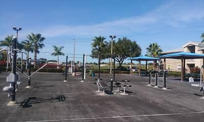 Recreation Area, Harbour Cay, 2