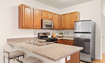 Kitchen, Aldara Apartments, 0