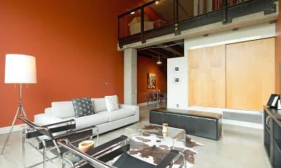 Living Room, Gateway Lofts, 0