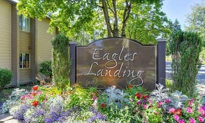 Community Signage, Eagle's Landing, 0