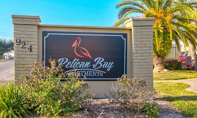 Community Signage, Pelican Bay Apartment Homes, 2