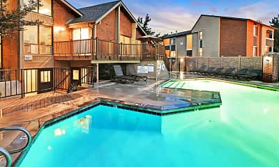 Pool, Fox Creek Apartments, 1