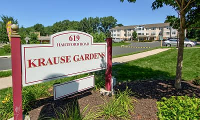Community Signage, Krause Gardens Apartments, 2