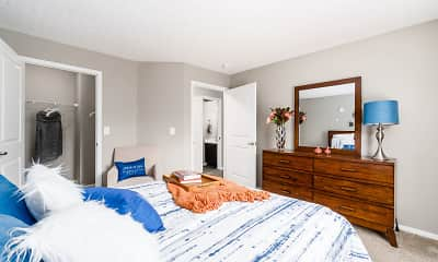 Bedroom, The Estates at Brentwood Lake, 1