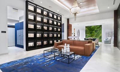 Living Room, ParkLine Miami, 1