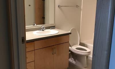 Bathroom, The Aurora at Griggs Square, 2