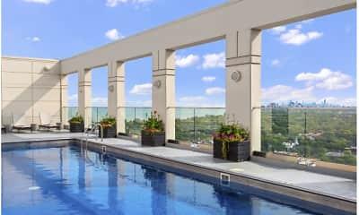 Pool, The Park Evanston, 2