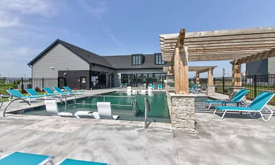 Pool, Fremont Commons, 1