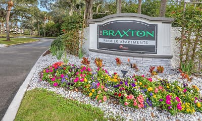 Community Signage, The Braxton, 2