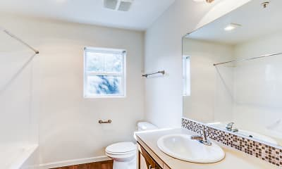 Bathroom, Atwater Apartments, 2