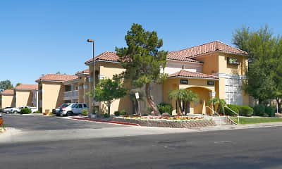 Building, Furnished Studio - Phoenix - Mesa - West, 1