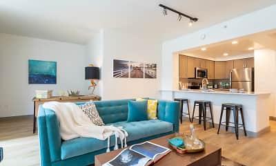 Living Room, Met Tower, 1