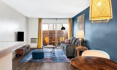 Living Room, Bay Pointe, 0