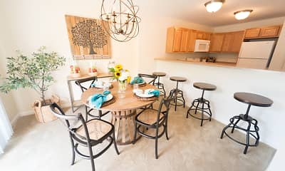 Dining Room, Orchard Hills Landings., 2