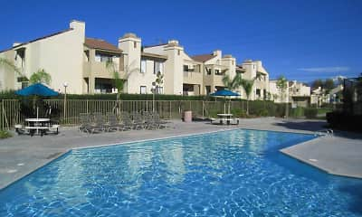 Pool, Cottonwood Ranch Apartments, 1