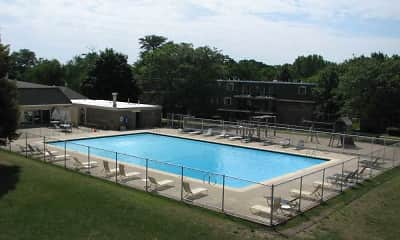 Pool, Aspen Ridge Apartments, 2