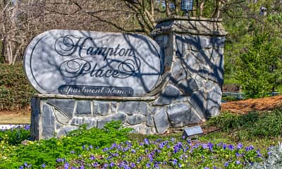 Community Signage, Hampton Place Apartments, 2