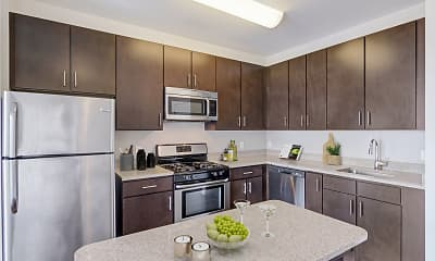 Kitchen, The Key At Yale And Towne, 0
